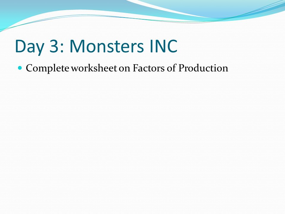 economics and monsters inc The cultural significance of the movie monsters, inc monster, inc is about a city where monsters live, and their town is fueled on the screams of human children.
