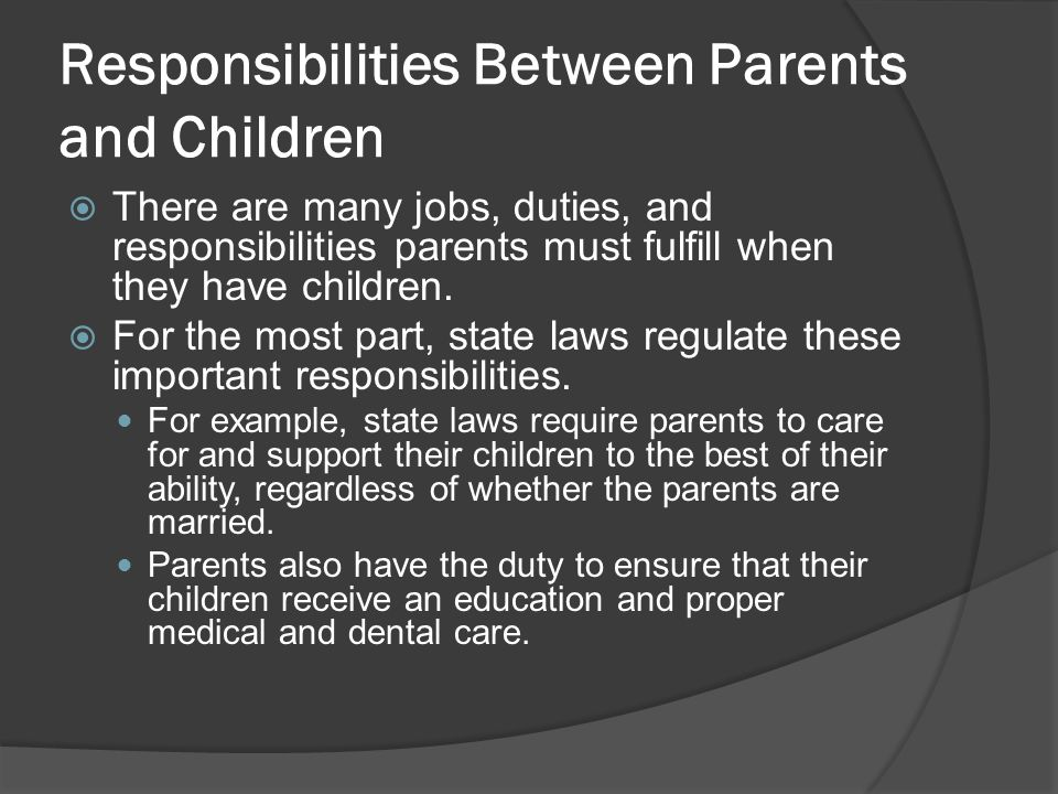 sexual eduction are parents responsibility to their children As catholics, we further believe that our children are a precious gift from god,  and that he has entrusted to us, their parents, not only the primary responsibility.