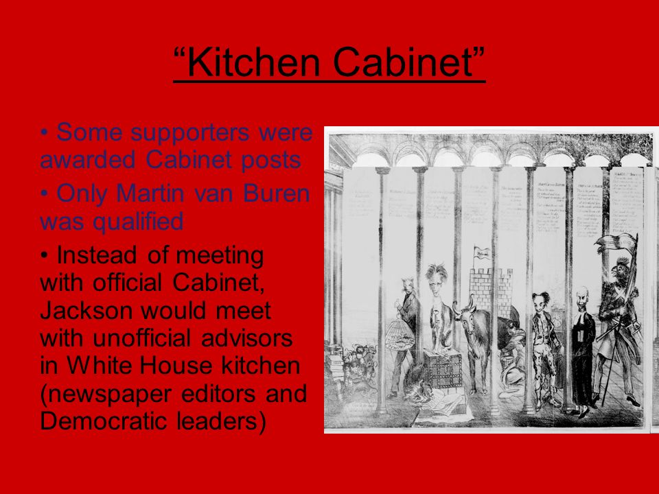 Kitchen Cabinet Undemocratic