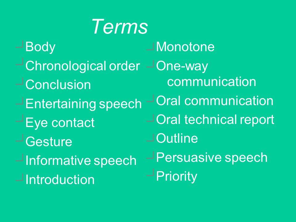 speech essay format