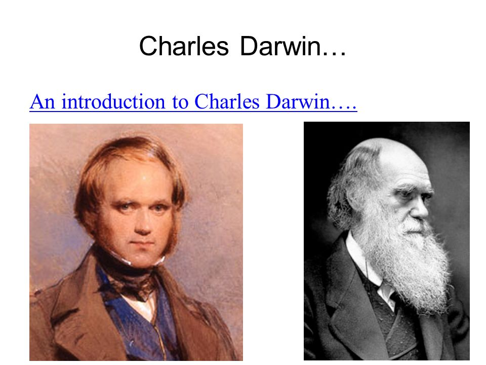 an introduction to the evolution and natural selection by charles darwin Charles darwin's theory of evolution by natural selection essay 1027 words | 5 pages darwin is considered by other people as the creator of evolution.