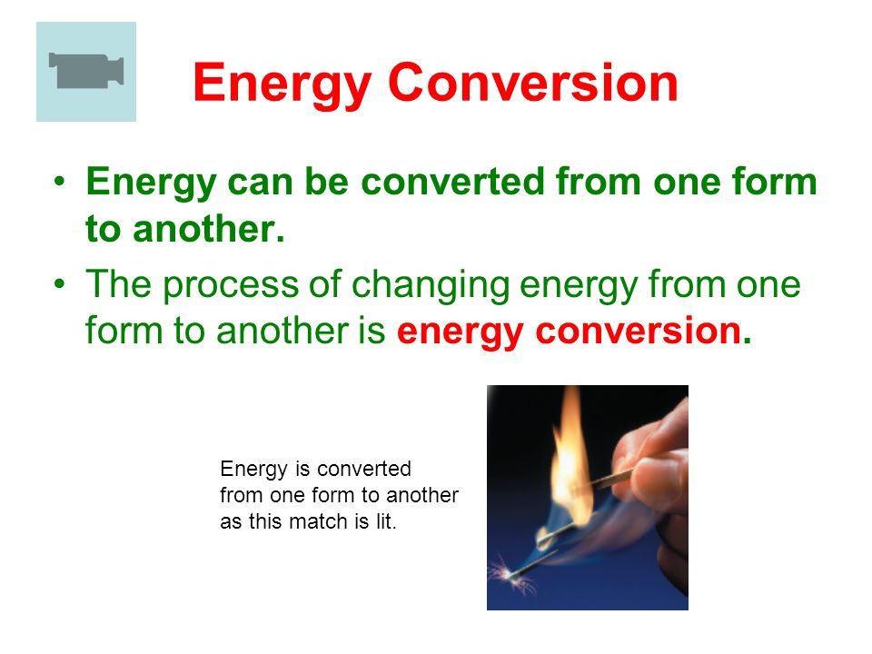 Energy Conversion and Conservation - ppt video online download