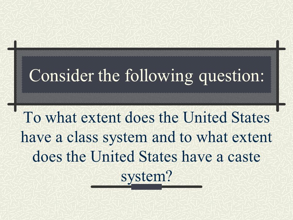 Consider the following question: