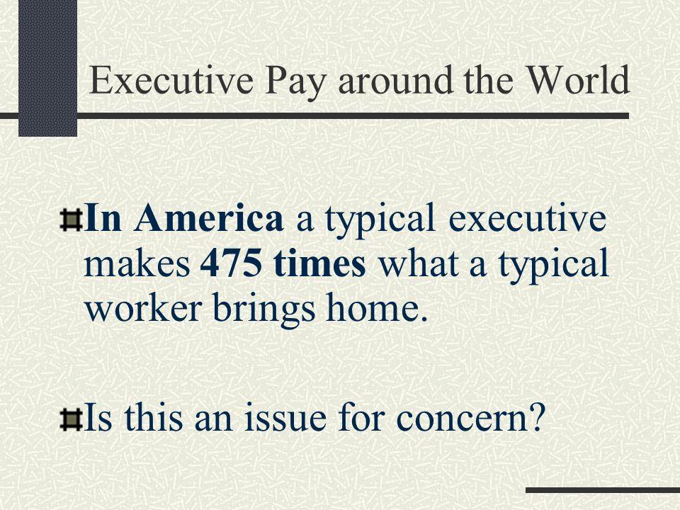 Executive Pay around the World