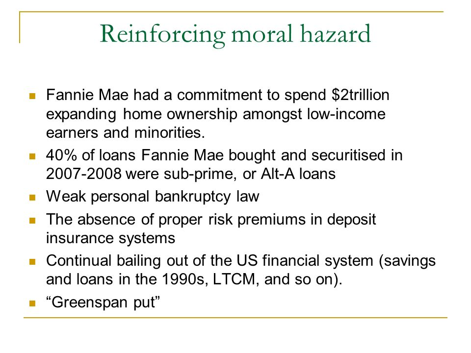 moral hazard in light of 2007 2008 Moral hazard and the demand for health received in revised form 23 may 2007 accepted 14 february 2008 we interpret the latter result in light of chiappori et.