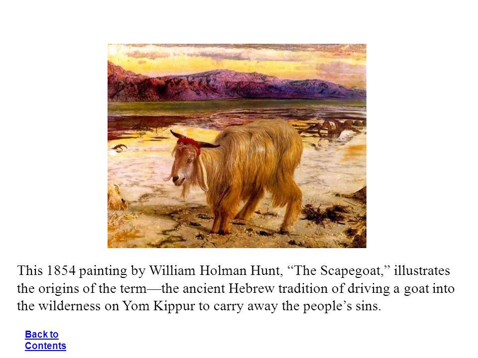 william hunt scapegoat print