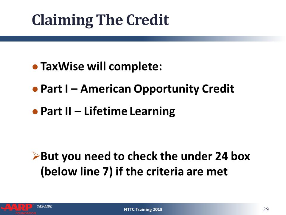 Education Benefits American Opportunities Credit - ppt video ...