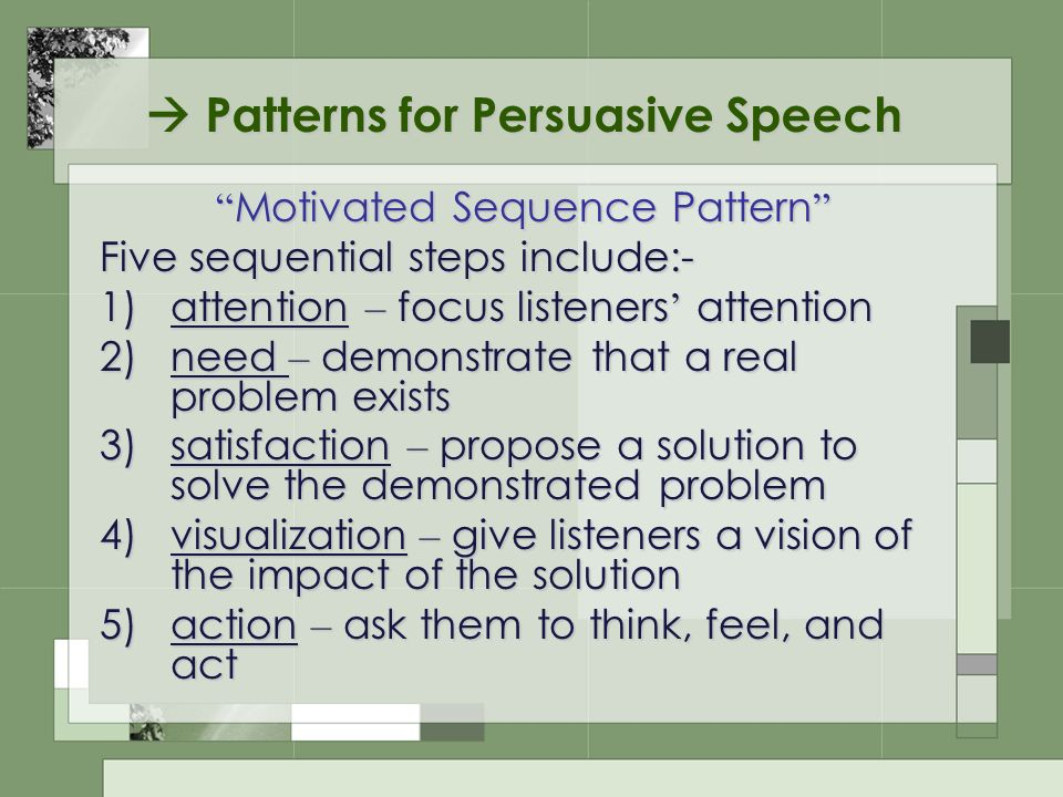 Persuasive speech online dating