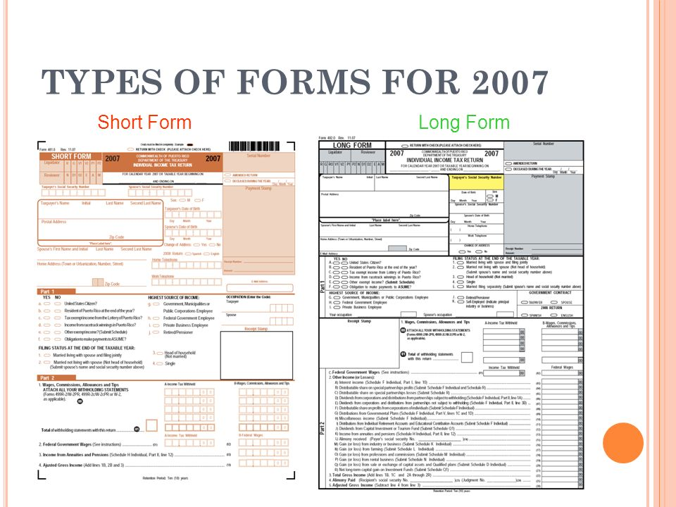 Puerto Rico Tax Forms Understanding the key elements of the Puerto ...