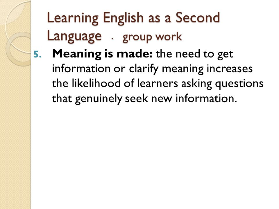 Resource Guide to English as a Second Language