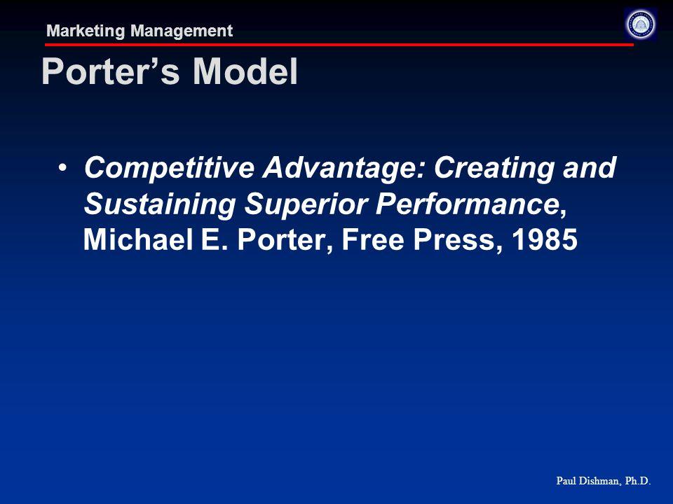 Marketing management competitive threats ppt download - Porter s model of competitive advantage ...