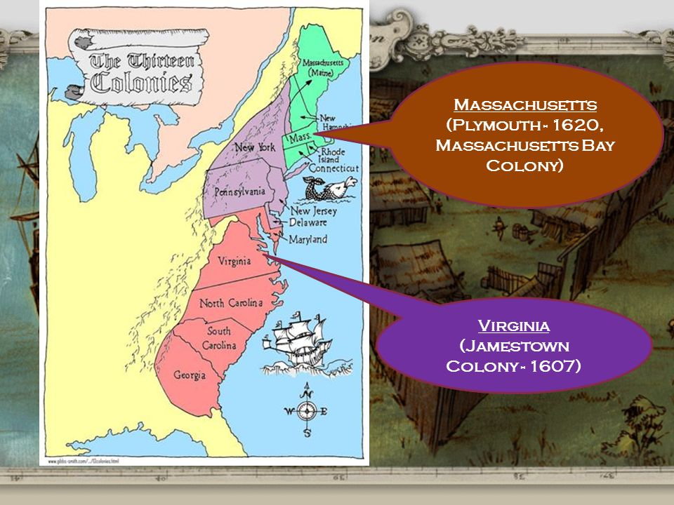 plymouth and massachusetts bay colonies Historical rivalry virginia's jamestown their chronologies still assign precedence to 1607 jamestown over 1620 plymouth and the 1630 massachusetts bay colony plymouth colony was founded in massachusetts mike durling wears a pilgrim's somber wardrobe.
