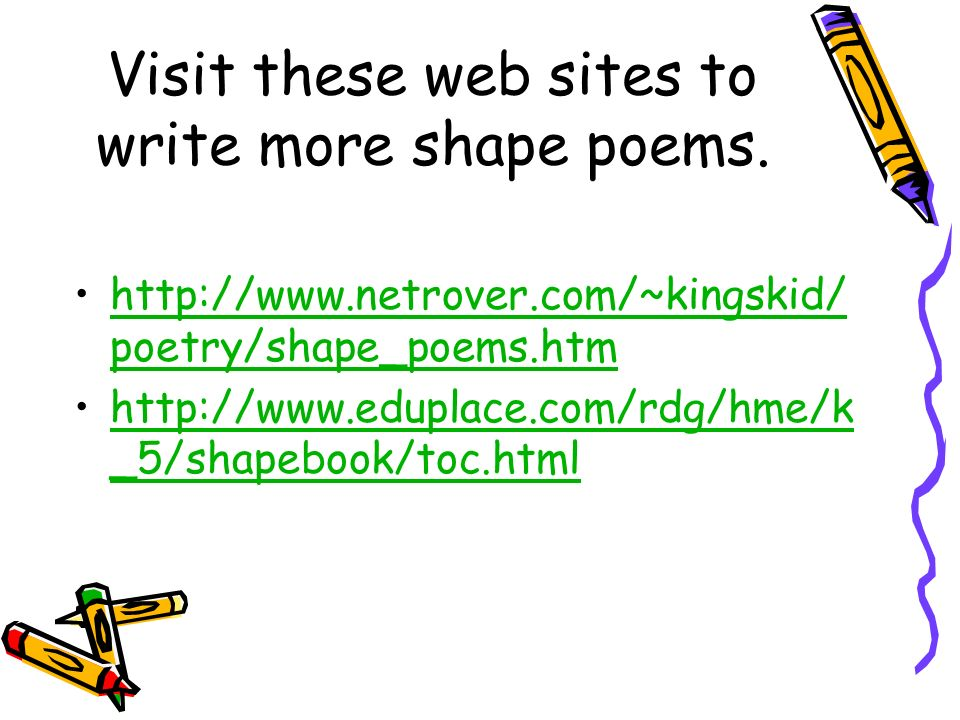 write poems online Poetsorg - the academy of american poets is the largest membership-based nonprofit organization fostering an appreciation for contemporary poetry and supporting american poets.