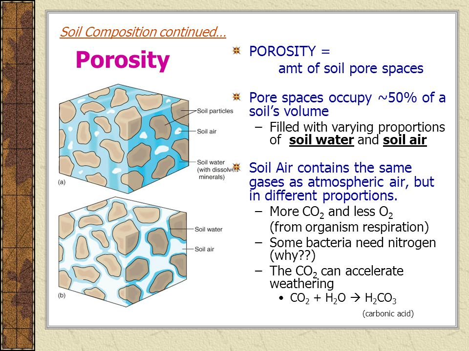 Soil science chapter 14 r b chapter 14 miller ch 21 r for Soil composition definition