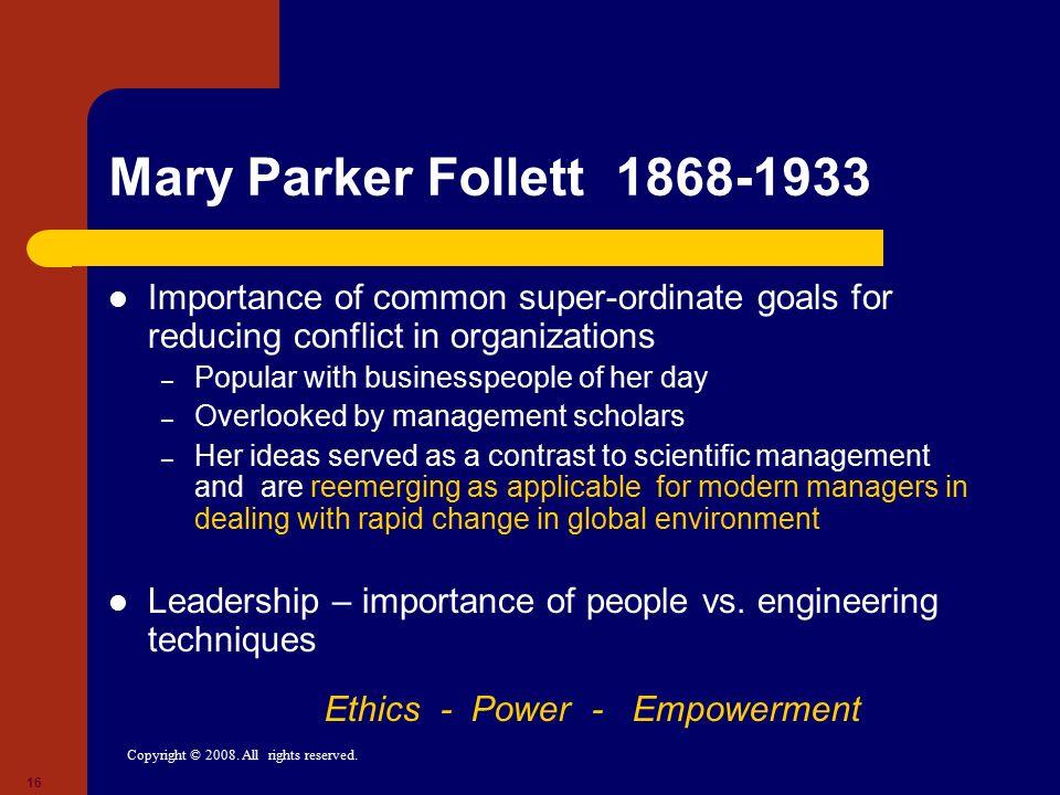 Ethics - Power - Empowerment
