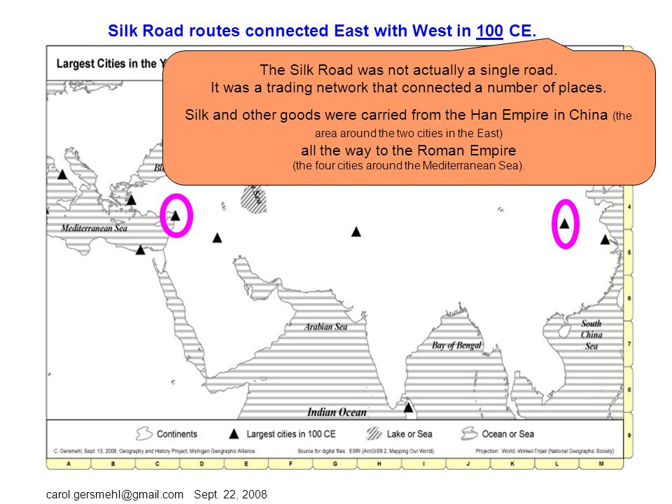 Explore connections between east and west in the first century ce 7 silk ccuart Choice Image