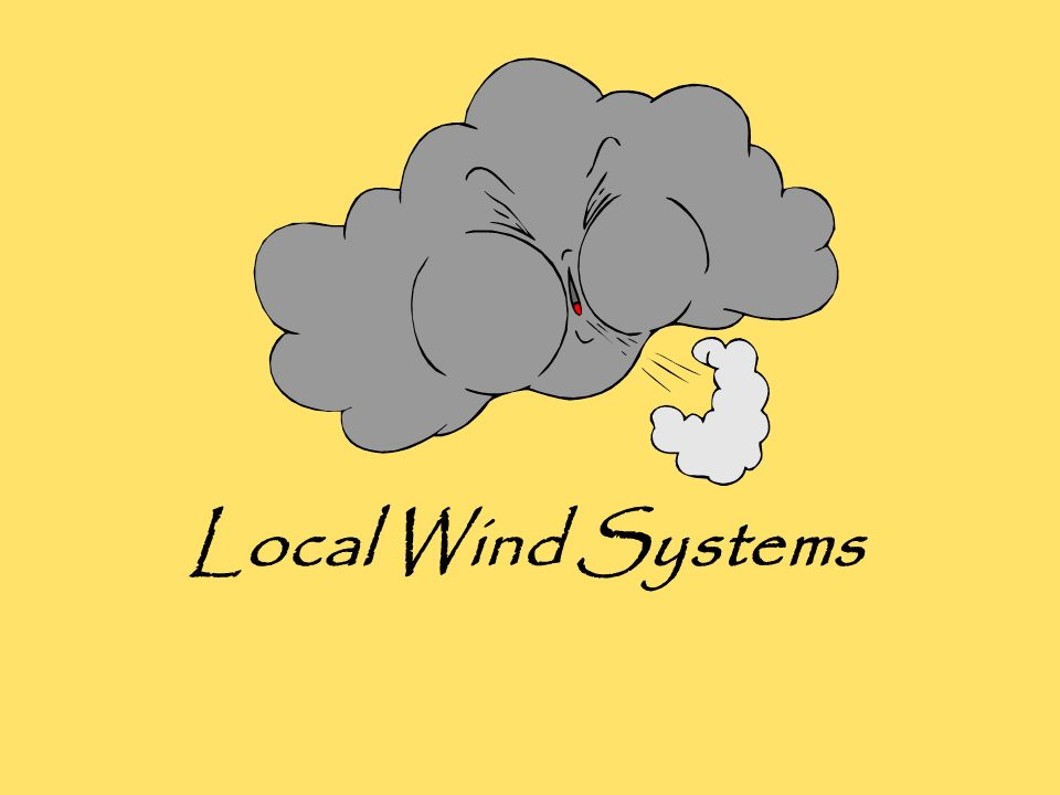 Local Wind Systems