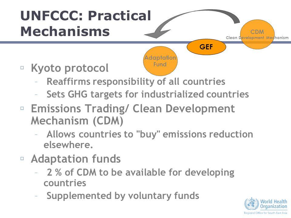 ifg standard cdm unfccc definition