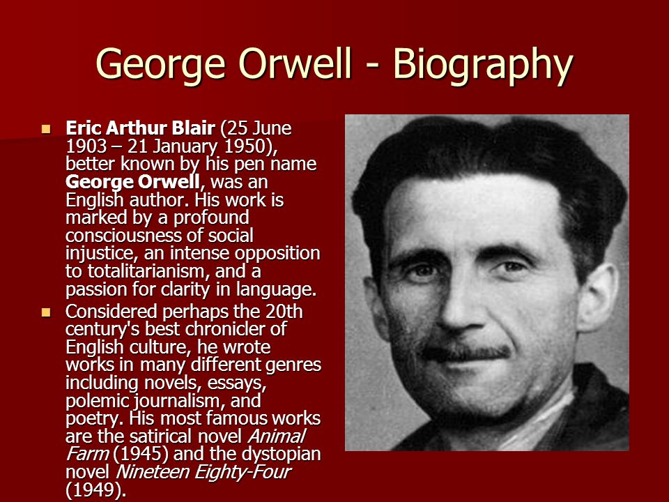 George orwell the hanging thesis