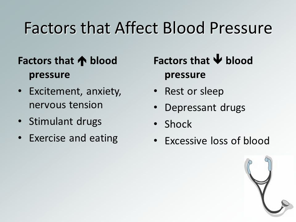 factors affecting hypertension Be conscious of the following factors the next time you get a blood pressure reading but twice as many patients were diagnosed with high blood pressure with the arm hanging down one thought on  10 factors that affect blood pressure readings  pingback.