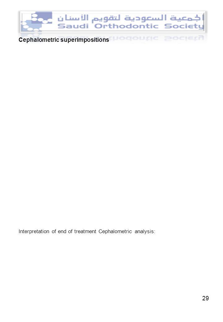case presentation introduction ppt cephalometric superimpositions