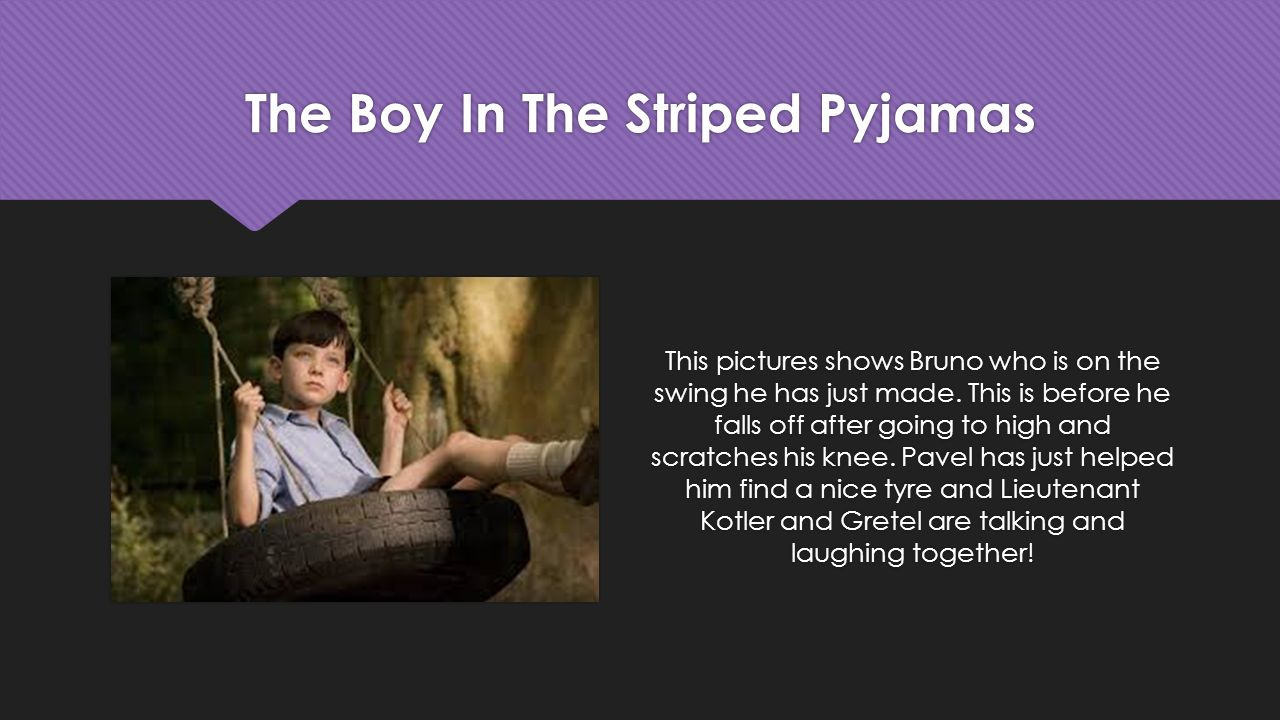 Essay about the boy in the striped pyjamas movie