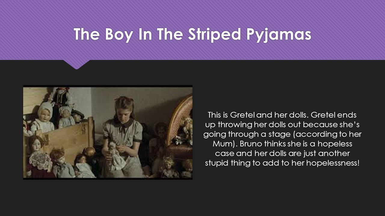 the boy in the striped pijama The tomatometer rating - based on the published opinions of hundreds of film and television critics - is a trusted measurement of movie and tv programming quality for millions of moviegoers.