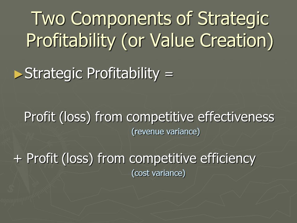 strategies of value creation Apply new business development strategies and best practices to create organic growth and value with the innovation for growth program for executives from wharton.