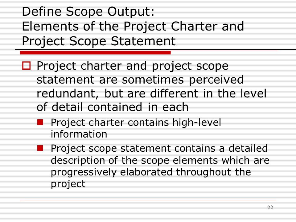 define project charter A project charter, as per the pmbok 5th edition guide, can be defined as the document issued by the sponsor/initiator of the project that formally authorizes the existence of the project and provides the project manager with the authority to apply organizational resources to project activities.