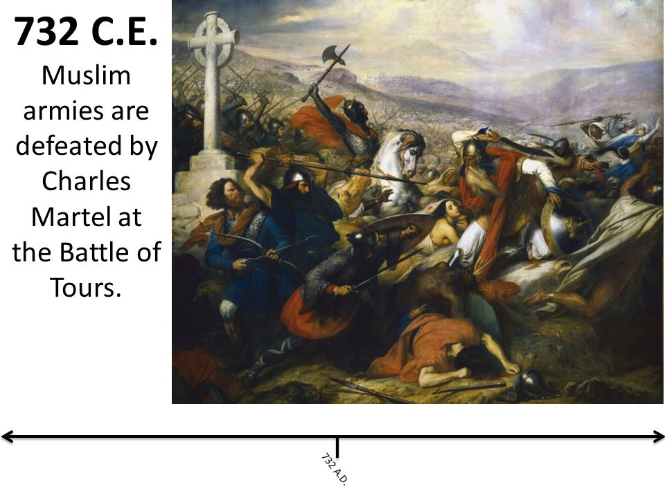 Charles Martel Defeated Who In The Battle Of Tours