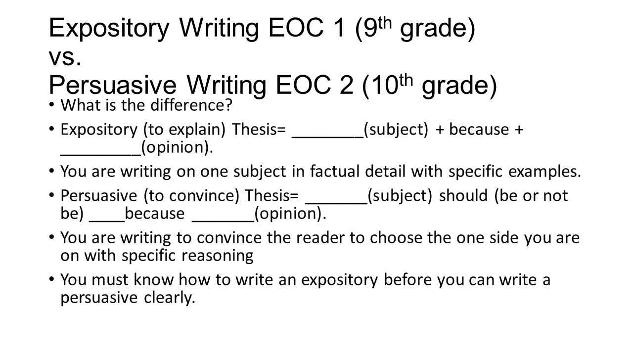 10 grade informational process essay examples