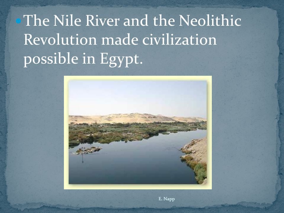 the neolithic revolution and the development of civilization When people think of the neolithic brought about by the neolithic revolution—the most important development in human the neolithic revolution.
