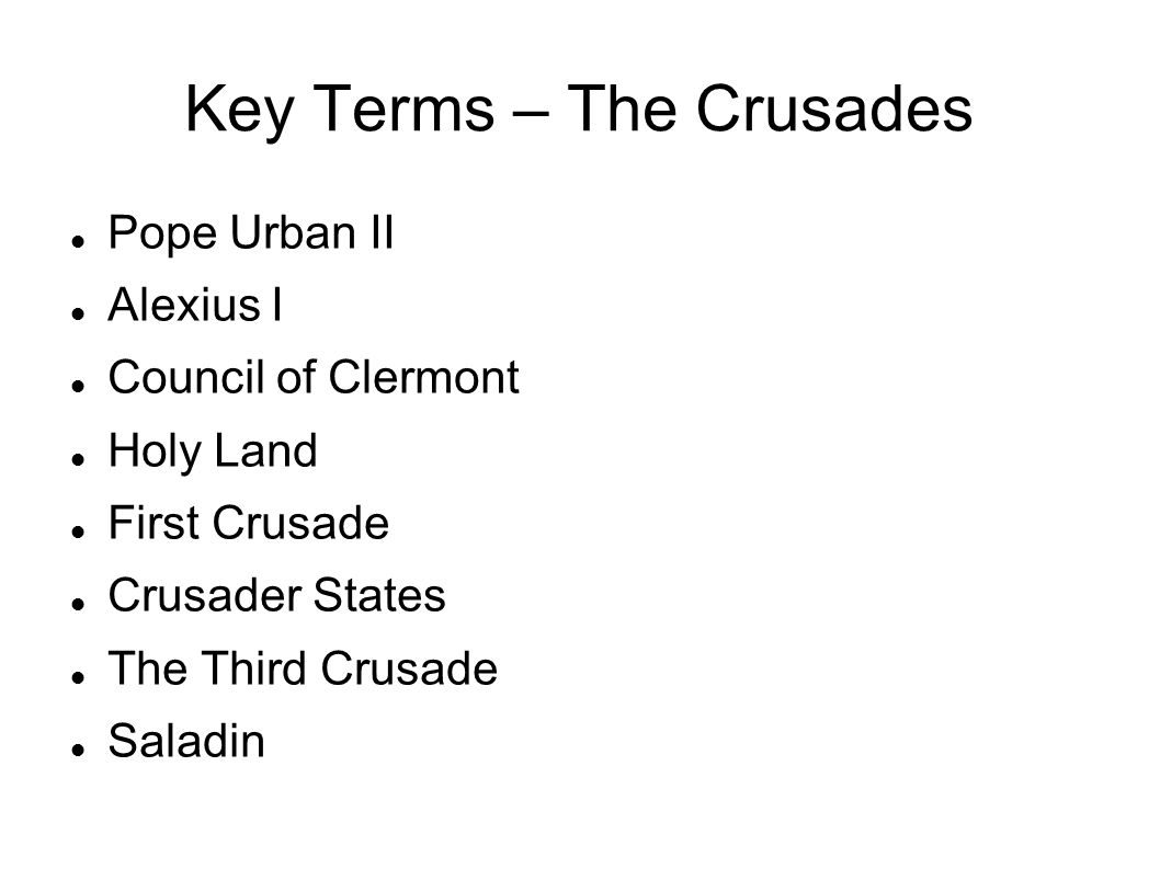 why did pope urban call the first crusade in 1095 Council of clermont: council of clermont, an assembly for church reform called by pope urban ii in 1095, which, as a result of a request by envoys from the byzantine emperor alexius i comnenus to aid the greeks against the muslim turks, became the occasion for initiating the first crusade.