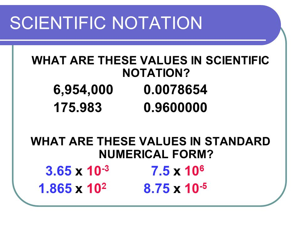 SCIENTIFIC MEASUREMENT - ppt download