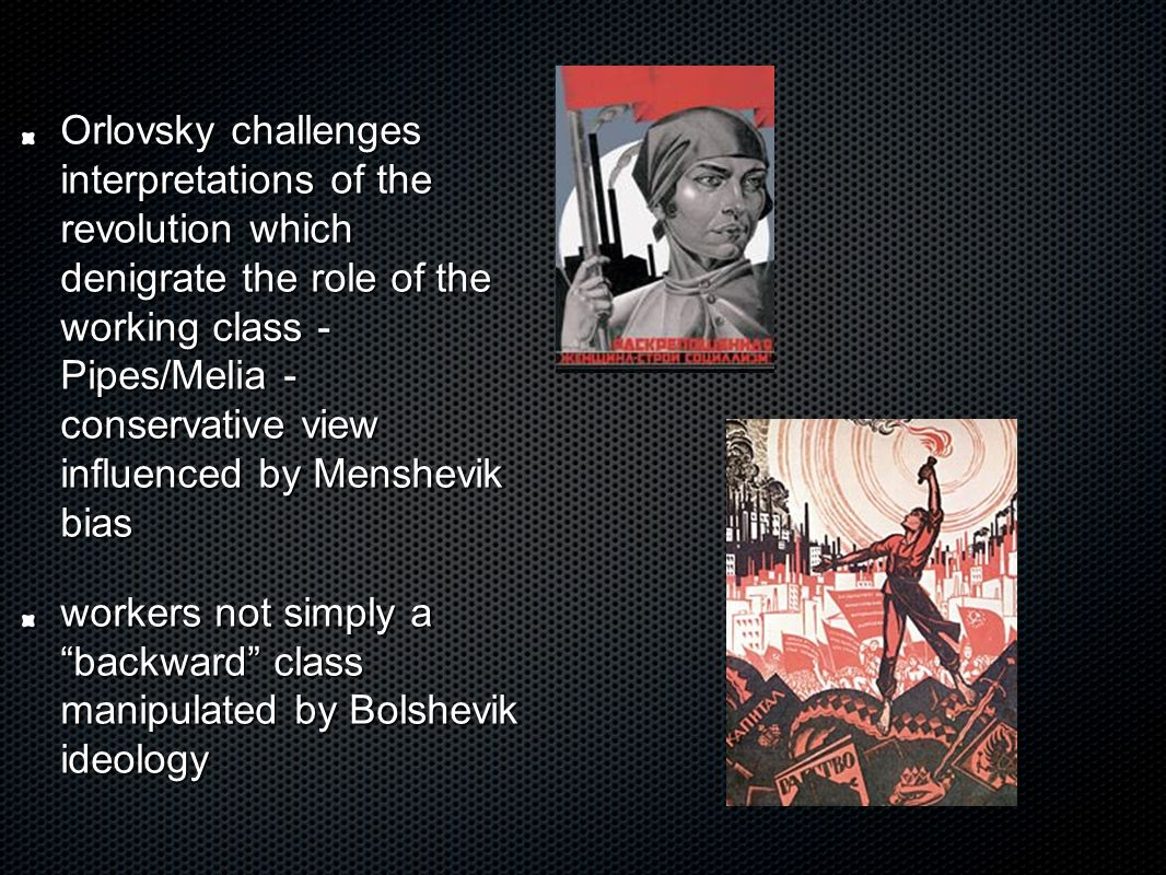 how the bolshevik revolution influenced russia essay One of orwell's goals in writing animal farm was to portray the russian (or bolshevik) revolution of 1917 as one that resulted in a government more oppressive, totalitarian, and deadly than the one it overthrew many of the characters and events of orwell's novel parallel those of the russian .