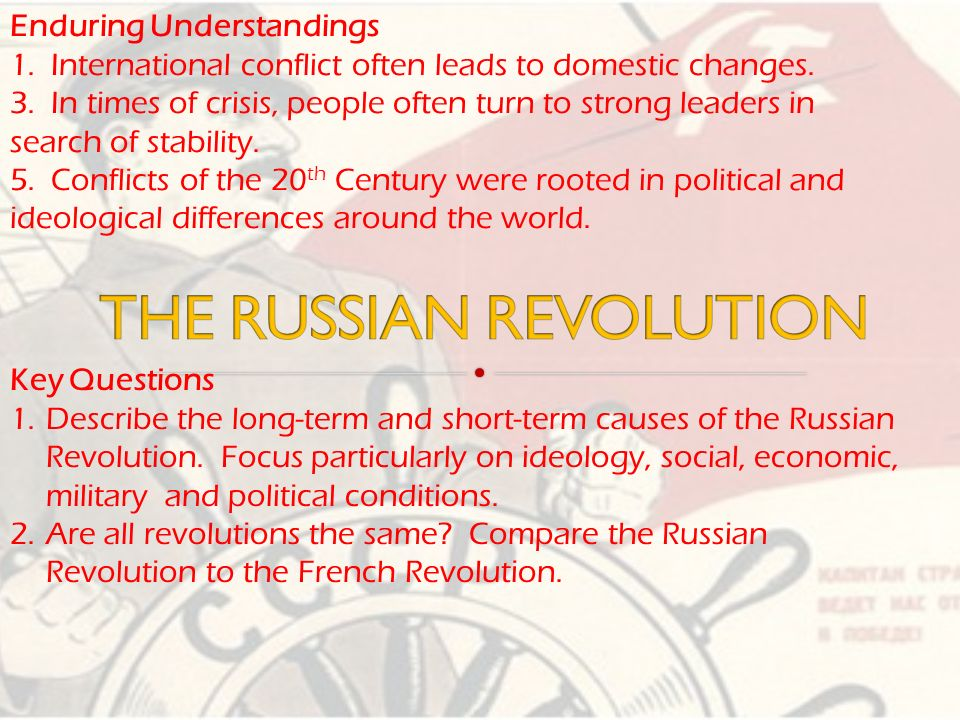 french and russian revolution The years 1789 and 1917 held similarity in the fact that they were the beginning of years of utter chaos in europe in 1789, france was at the beginning of what was to be known as the french.