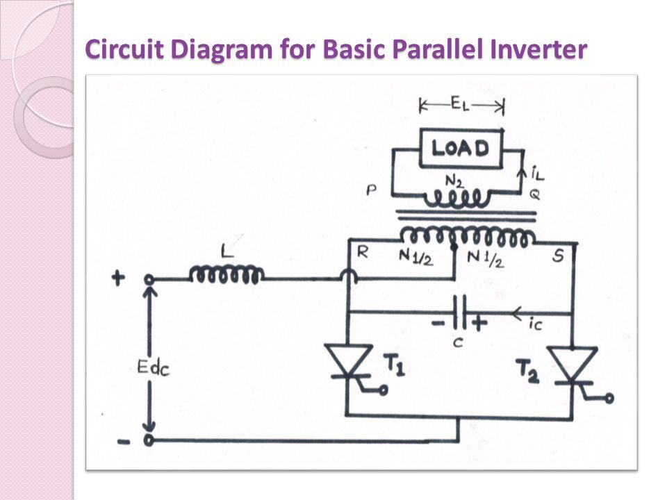 Circuit Diagram for Basic Parallel Inverter