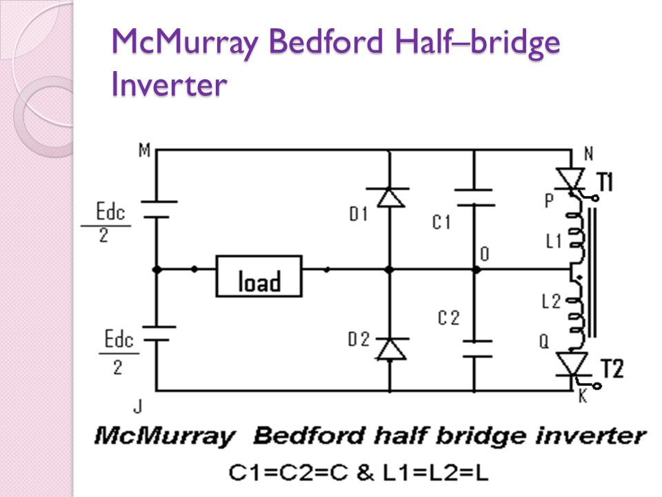 McMurray Bedford Half–bridge Inverter
