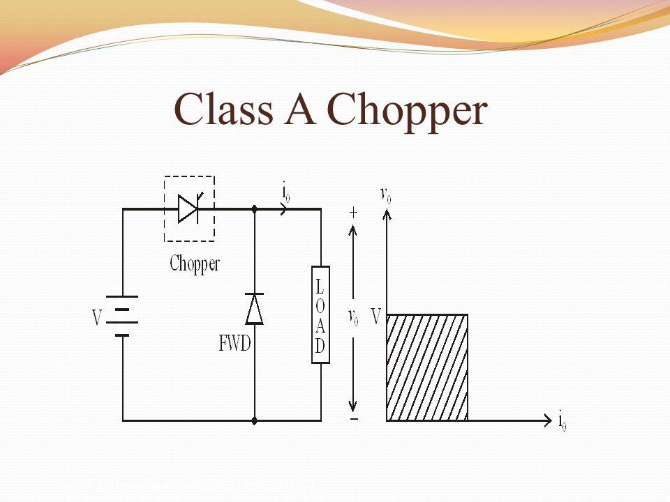 Class A Chopper Prof. T.K. Anantha Kumar, E&E Dept., MSRIT