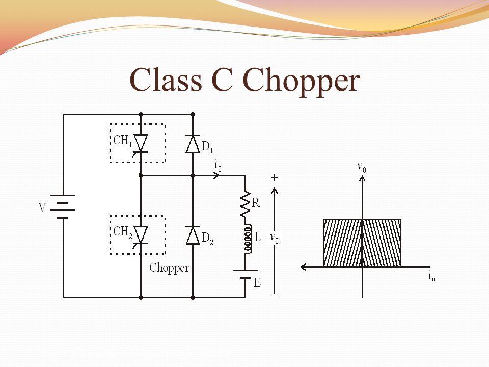 Class C Chopper Prof. T.K. Anantha Kumar, E&E Dept., MSRIT