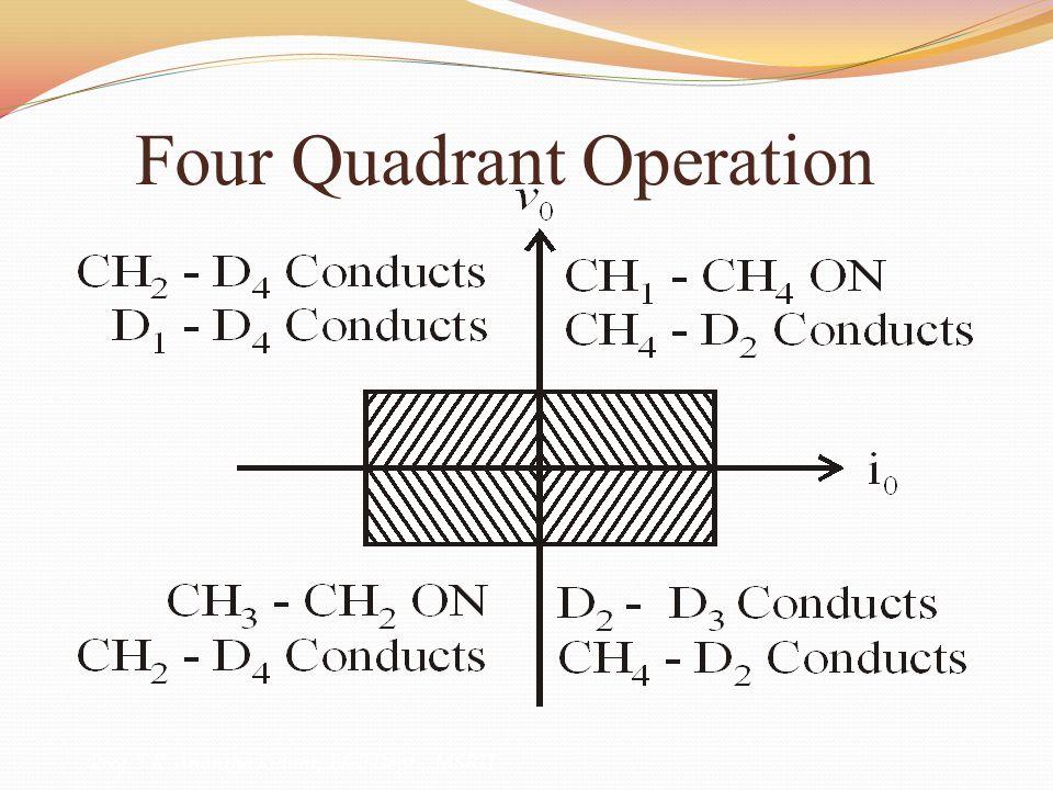 Four Quadrant Operation