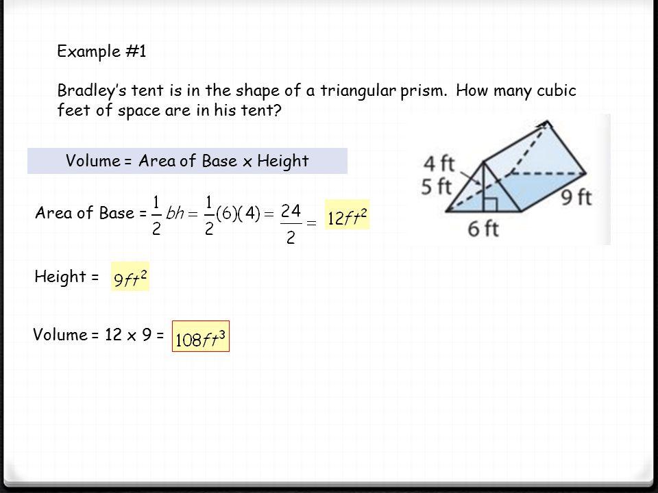 5 Volume ...  sc 1 st  SlidePlayer & Volume of Triangular and Trapezoidal Prisms - ppt video online ...