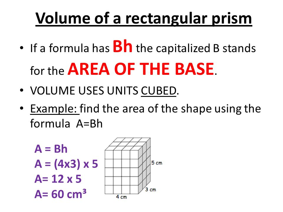 Rectangular Prism A solid (3-dimensional) object which has ...