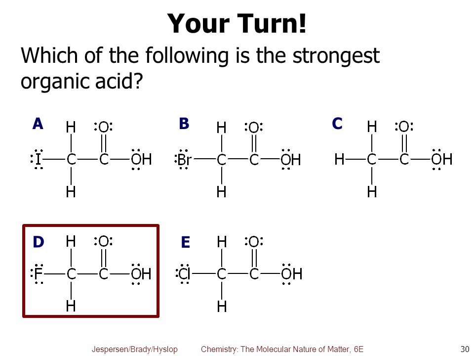 Chapter 16: Acids and Bases, A Molecular Look - ppt video ...