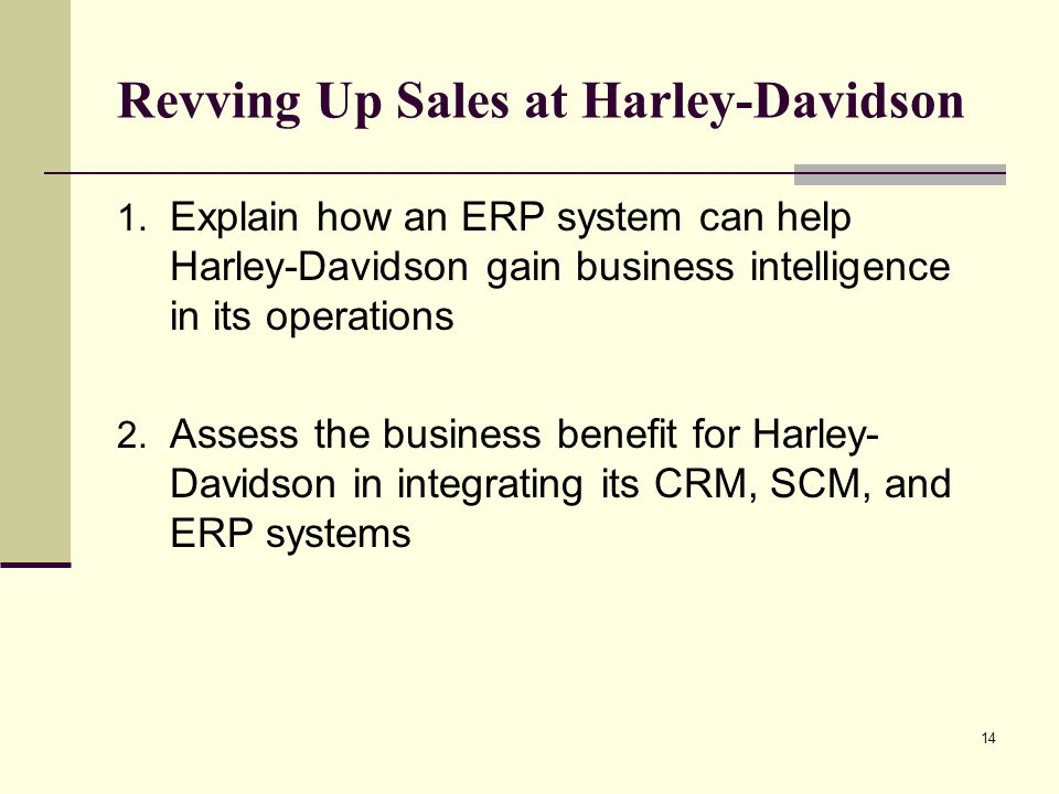 revving up sales at harley davidson essay Mu extension's sbtdc business development specialists help company develop international markets when harley-davidson domestic sales began to slow to an idle, employees of rk stratman inc of wentzville knew they had to rev things up.
