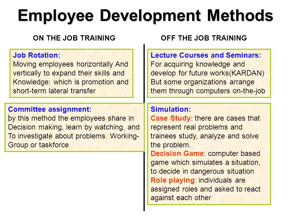 employee training and development case studies Case study – employee training in multinational companies  quite extensively  on the development of their workforce, even during periods of.