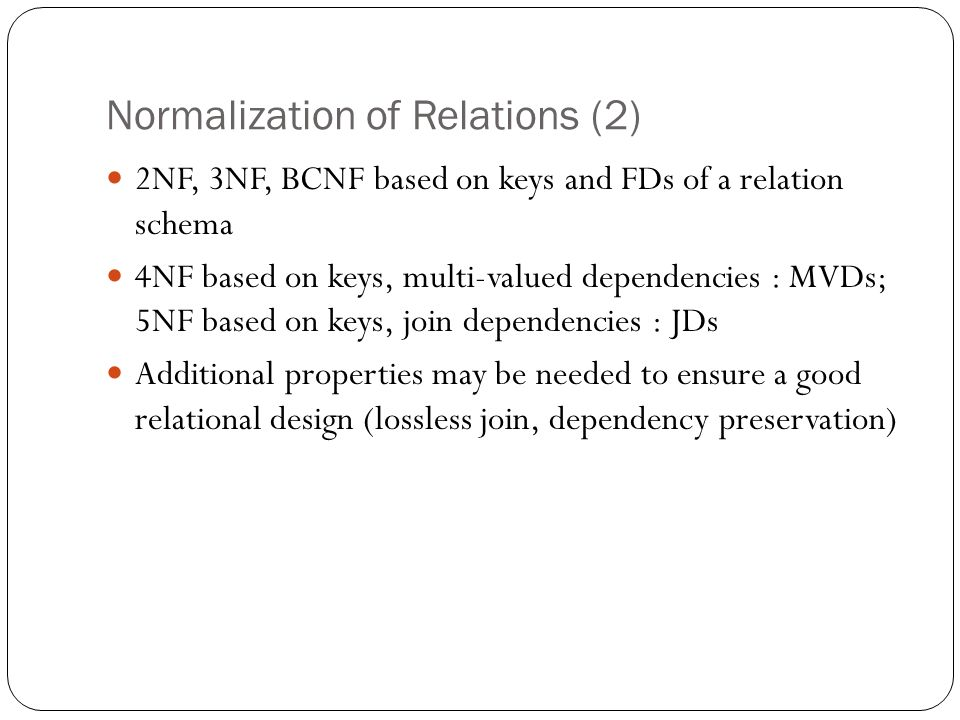FUNCTIONAL DEPENDENCIES & NORMALIZATION - ppt download