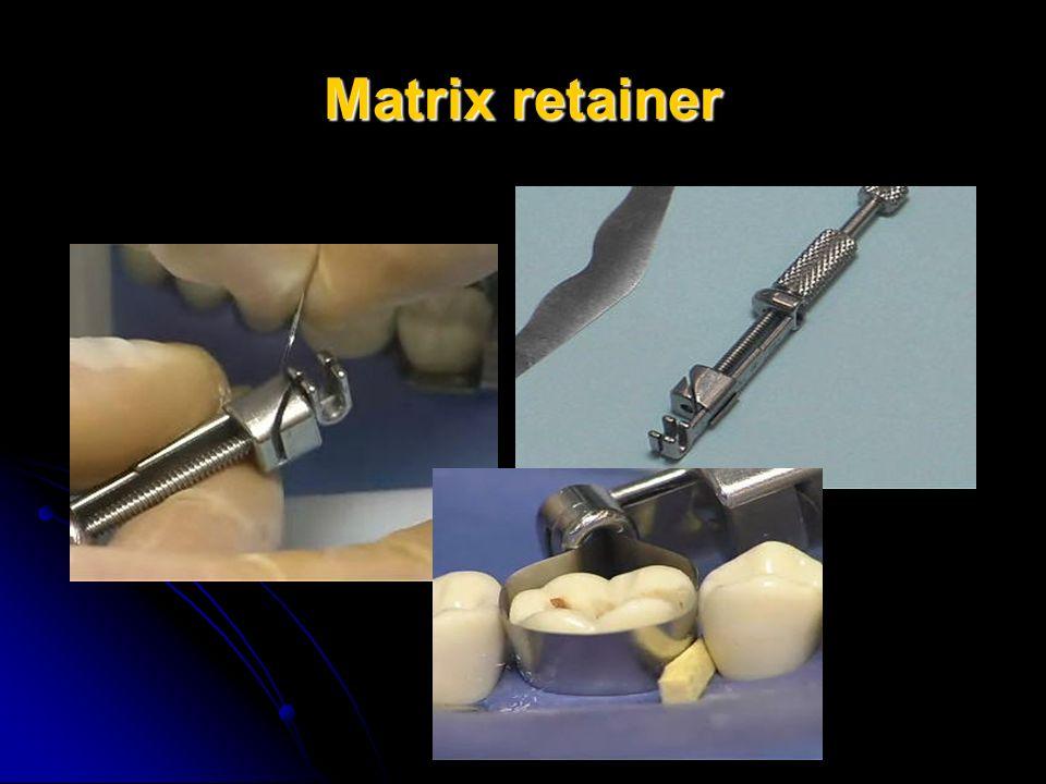 Matrix retainer