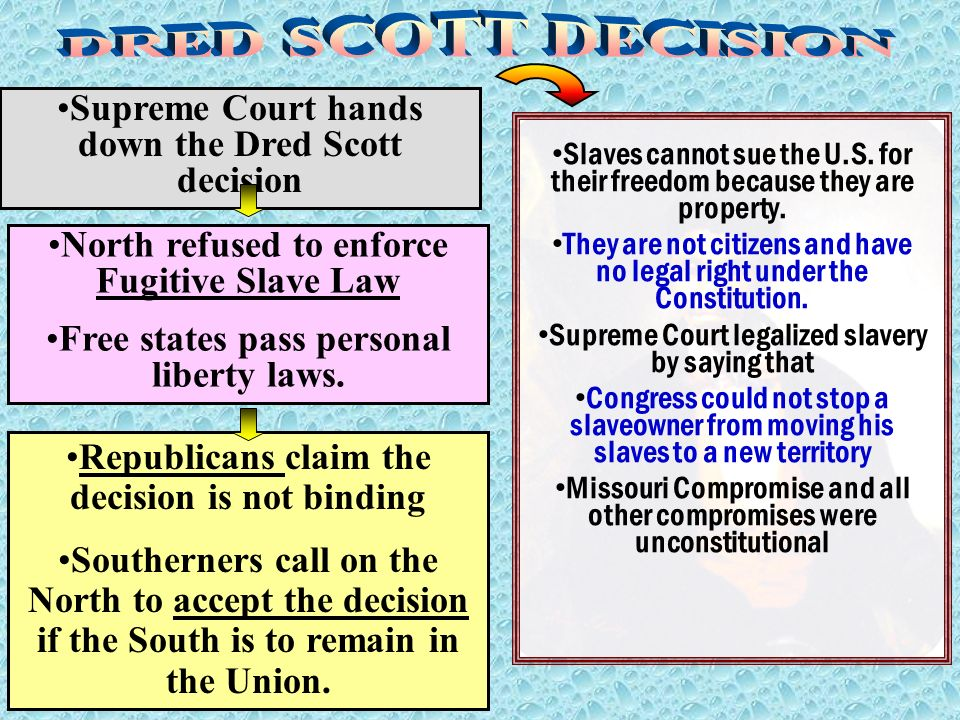the dred scott decision opinion and Read this history other essay and over 88,000 other research documents dred scott the dred scott decision of the supreme court in march 1857 was one of the major steps on the road.