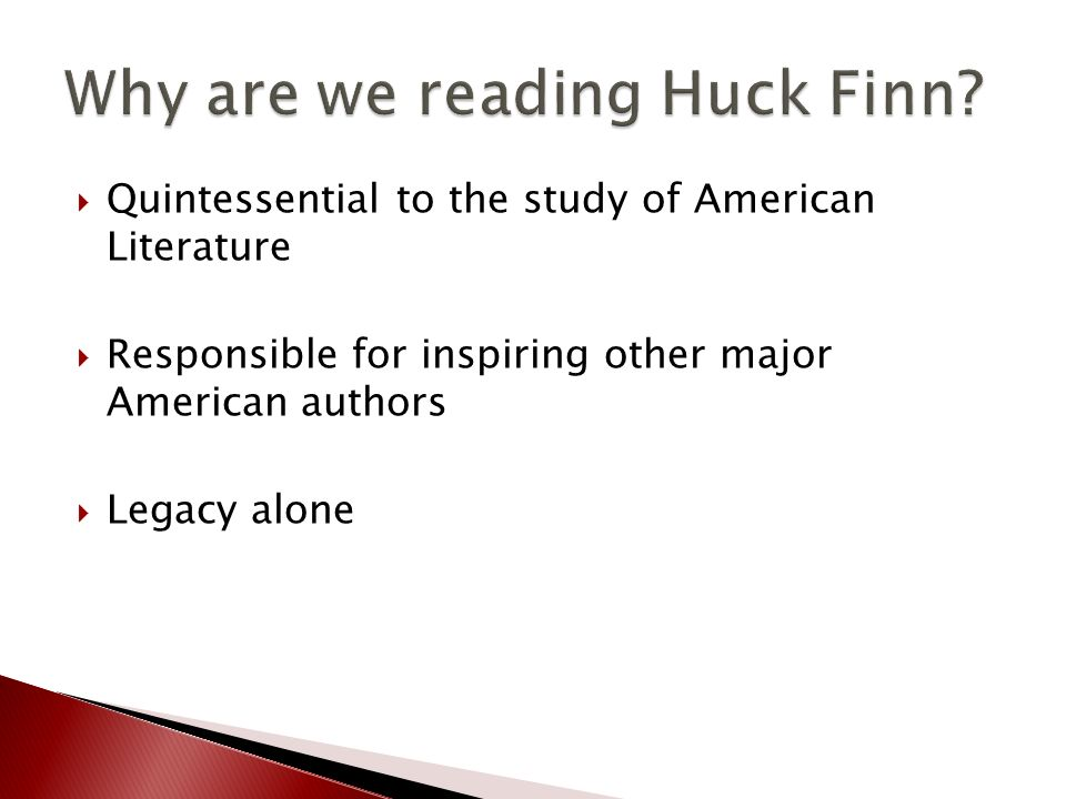 an analysis of the use of derogatory terms in the adventures of huckleberry finn by mark twain A new edition of huckleberry finn expunges its repeated use of 'nigger' for understandable reasons, but betrays a great anti-racist novel in the process peter messent wed 5 jan 2011 1247 est.